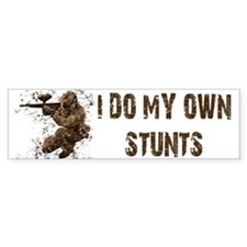 Paintball My Own Stunts Bumper Bumper Sticker