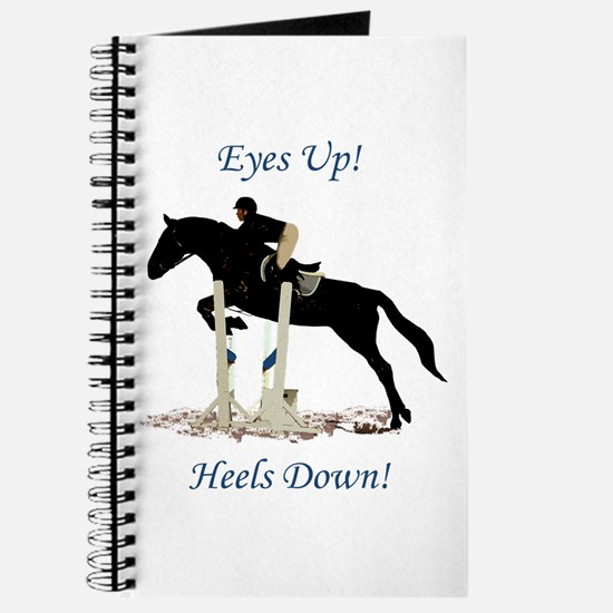 Eyes Up! Heels Down! Horse Journal