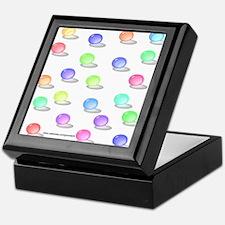 Retro Marbles Keepsake Box