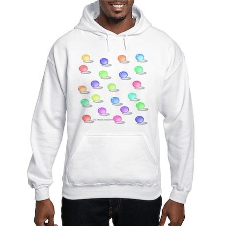 Retro Marbles Hooded Sweatshirt