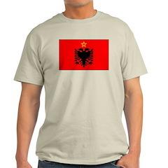Albania Ash Grey T-Shirt