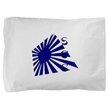 Rising Sun1 Blue SCC.png Pillow Sham