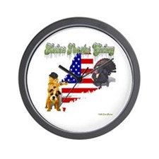 Maine Thanks Giving Wall Clock