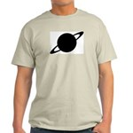 Saturn (Ringed Planet) Ash Grey T-Shirt