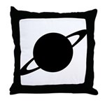 Saturn (Ringed Planet) Throw Pillow