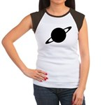 Saturn (Ringed Planet) Women's Cap Sleeve T-Shirt