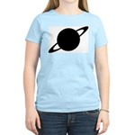 Saturn (Ringed Planet) Women's Pink T-Shirt