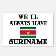 We Will Always Have Suriname Postcards (Package of