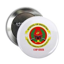 """Camp Geiger with Text 2.25"""" Button (10 pack)"""