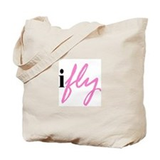 I Fly (pink) Tote Bag