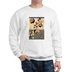 ORIENTAL CAT ART Sweatshirt