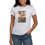 ORIENTAL CAT ART Women's T-Shirt