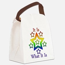 It is what it is.png Canvas Lunch Bag