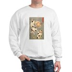 CATS IN DIFFERENT POSES Sweatshirt