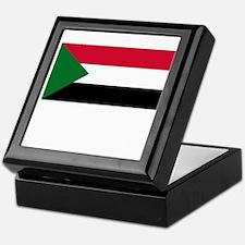 Sudan Flag Picture Keepsake Box