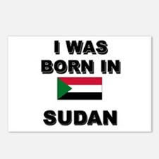 I Was Born In Sudan Postcards (Package of 8)