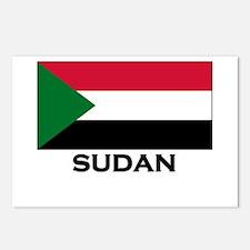 Sudan Flag Stuff Postcards (Package of 8)