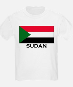 Sudan Flag Stuff Kids T-Shirt
