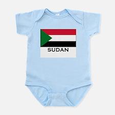 Sudan Flag Stuff Infant Creeper