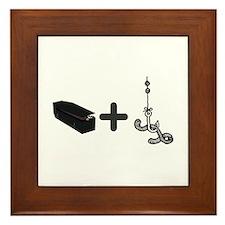 Coffin Bait Framed Tile