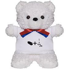 Coffin Bait Teddy Bear