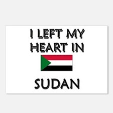 I Left My Heart In Sudan Postcards (Package of 8)