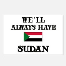We Will Always Have Sudan Postcards (Package of 8)