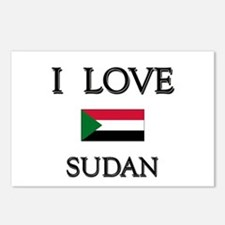 I Love Sudan Postcards (Package of 8)