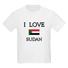 I Love Sudan Kids T-Shirt