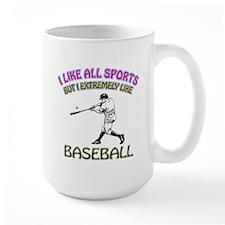 Baseball Design Mug