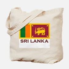 Sri Lanka Flag Stuff Tote Bag