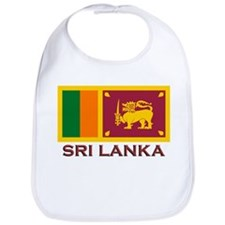 Sri Lanka Flag Stuff Bib