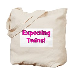 Expecting Twins! Tote Bag