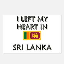 I Left My Heart In Sri Lanka Postcards (Package of