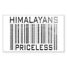 Himalayans Priceless Rectangle Decal