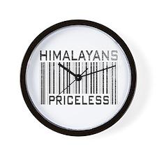 Himalayans Priceless Wall Clock