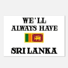 We Will Always Have Sri Lanka Postcards (Package o