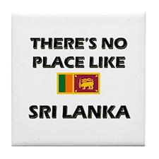There Is No Place Like Sri Lanka Tile Coaster
