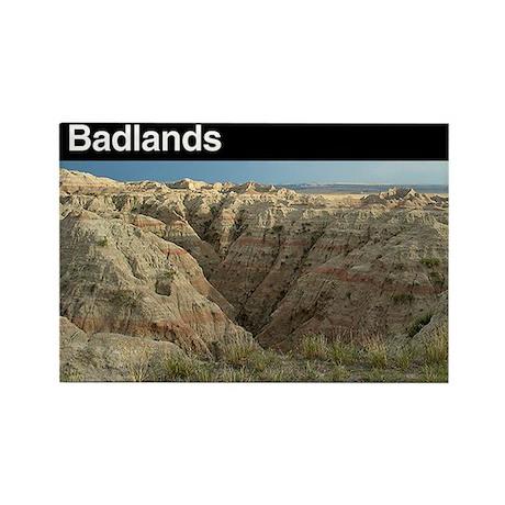 Badlands NP Rectangle Magnet