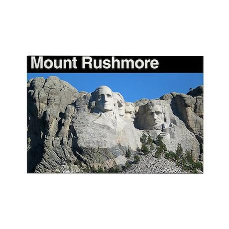 Mount Rushmore NM Rectangle Magnet