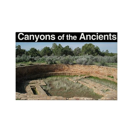 Canyons of the Ancients NM Rectangle Magnet