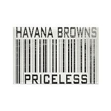Havana Browns Priceless Rectangle Magnet