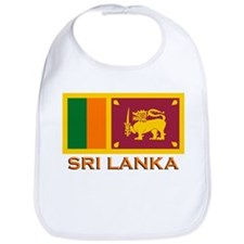 Sri Lanka Flag Merchandise Bib