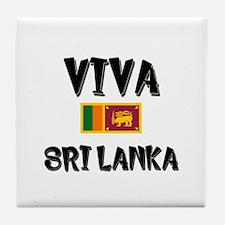 Viva Sri Lanka Tile Coaster