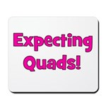 Expecting Quads! Mousepad