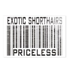 Exotic Shorthairs Priceless Postcards (Package of