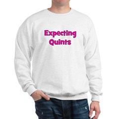 Expecting Quints! Sweatshirt