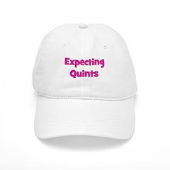 Expecting Quints! Baseball Cap