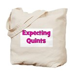 Expecting Quints! Tote Bag