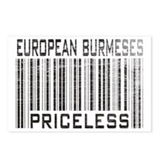 European Burmeses Priceless Postcards (Package of